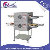 Gas comercial de la panadería del horno de la pizza del transportador/horno eléctrico
