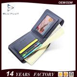 Бумажники зажима деньг портмона женщины неподдельной кожи фабрики Гуанчжоу