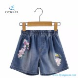 Shorts elastici del denim di vendita di estate delle ragazze calde di modo dalla mosca Jean