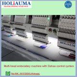 Holiauma 15 Kleuren 6 de HoofdMachine van het Borduurwerk van het Kledingstuk die voor de Functies van de Machine van het Borduurwerk van de Hoge snelheid voor het Zelfde van het Borduurwerk van de T-shirt zoals wordt geautomatiseerd Borduurwerk Tajima