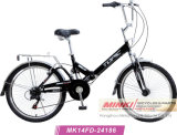 20 '' bicicleta plegable de la suspensión de la velocidad de Shimano 6