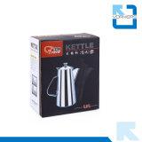 Kurzer Tülle-Edelstahl-Wasser-Potenziometer und Tee-Kessel
