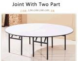 Tableau de contre-plaqué de banquet dinant le bâti en acier de Tableau d'événement dans la taille différente dinant des meubles