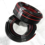 1/4 pulgadas resistente al ozono trenza de fibra de rojo la manguera de aire de caucho