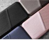 Neues dünnes PU-Leder Anti-Löschen zurück Deckel mit Kreditkarte-Halter