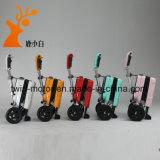Guter Preis-rote Farbe, die elektrischen Mobilitäts-Roller faltet