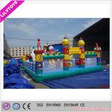 Castello di salto gonfiabile della più nuova città gonfiabile commerciale di divertimento da vendere