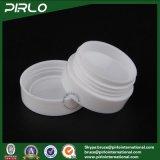 tarro plástico blanco de 3G mini PP con tarro poner crema plástico de los PP del envase del cuidado personal de la tapa el pequeño del ojo del tarro poner crema cosmético de la crema