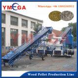 Chaîne de fabrication de sciure de certificat de la CE de boulette en bois de biomasse