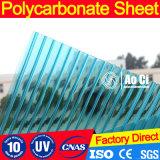 Feuille creuse en polycarbonate anti-brouillard PC