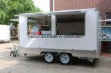 Трейлер бургера окна изготовленный на заказ передвижной