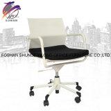 Comercial de alta calidad de color blanco Simple MID Back silla de oficina de malla