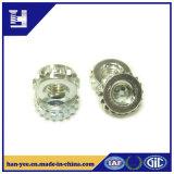 Noix en gros de plaque de zinc en métal de la Chine