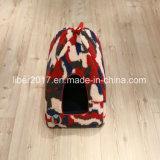 Farben-Tarnung-Katze-Form gefaltetes Haus mit Kissen