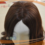 Pruik van de Vrouwen van de Bruine Bovenkant van het Haar Remy van 100% de Menselijke Blonde Gemengde Verkopende