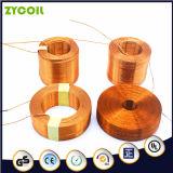 Bobine de cuivre inductive de solénoïde d'air fait sur commande d'aimant