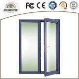 2017熱い販売のアルミニウム開き窓のドア