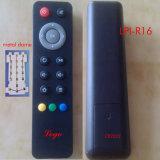 Control remoto IR con llave la bóveda del metal de goma para el altavoz de audio