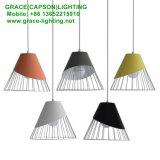 Lámpara pendiente de la nueva del diseño del Ce de Aprroved del café decoración del departamento (GD-7434-1)