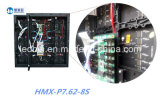 Módulo flexível cheio do indicador de diodo emissor de luz da cor P7.62 interno para o anúncio da loja