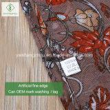 Heiße Schal-Form-Dame Scarf des Rattan-2017 Blume gedruckte dickflüssige