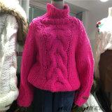 Novo Design Personalizado Senhoras Girl Aluno Cardigan Suéter tricotado de mão