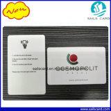 13.56MHz Tarjetas RFID para la tarjeta llave Hotel