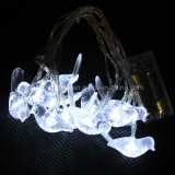 White LED 2m Arroz Flexível Light Fairy Light com luz clara Night Star Night