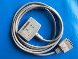 Cable del tronco 10 EKG/ECG de Shangai-Kohden Aha