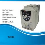 L'OIN de la CE a reconnu le mini entraînement de l'inverseur de fréquence monophasé 220V/AC