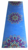 Циновка йоги Pilate йоги с индийской машиной печати Mandala Washable