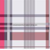 il plaid Pigment&Disperse di 100%Polyester Rosa ha stampato il tessuto per l'insieme dell'assestamento