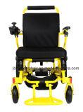 Lichtgewicht Elektrische Rolstoel met Brushless Motor voor Bejaarden