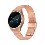 2017の熱い販売の歩数計および心拍数のモニタリングのリスト・ストラップが付いているスマートなブレスレットのスポーツの腕時計