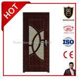 豪華なガラスが付いている内部の位置MDFのドア