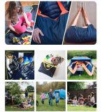 Beweglicher kampierender Picknick-umfassender Matten-Strand-Zudecketote-Arbeitsweg-Beutel für Picknick/Beach/BBQ