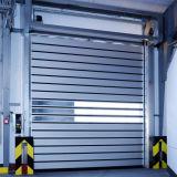 Rotolamento di alluminio veloce veloce duro elettrico di sicurezza sul portello d'acciaio di vetro