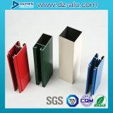 Perfil de alumínio da extrusão do revestimento do pó para o material de construção com cor/tamanho personalizados