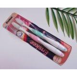 Toothbrush adulto com cerdas Nano 2 em 1 bloco 821 da economia