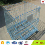 Apilable jaula de almacenamiento / cesta del metal