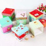 Коробка упаковки конструкции рождества подгонянная вычурой для подарка