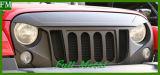 Grill Zes van het Traliewerk van de steen de Vette letters van Groeven voor Jeep Wrangler 2007+
