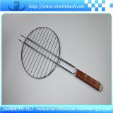 Edelstahl BBQ-Ineinander greifen verwendet für Gitter