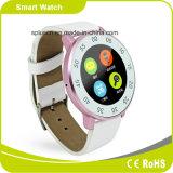 Bluetooth 4.0 Mtk2502 raditional reloj aspecto de de alto grado Androind + i Phone OS podómetro Siri SmartWatch