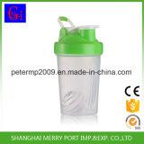 400ml 14ozの黄色いプラスチックシェーカーのコップ、蛋白質のシェーカー
