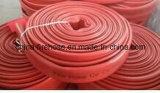 """"""" tuyau d'incendie en caoutchouc durable rouge de matériel de lutte contre l'incendie 2.5"""
