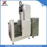 Tipo verticale per media frequenza macchina dell'SCR di indurimento di induzione di CNC per l'asta cilindrica del diametro 60mm