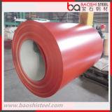 PPGI que cubre la hoja de acero para el material de construcción