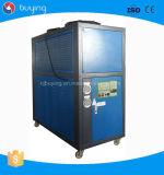 물 냉각장치 12ton를 Recirculating 공기에 의하여 냉각되는 저온