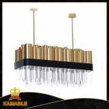 Lumière pendante moderne s'arrêtante de fantaisie d'appareil d'éclairage (KAP6039)